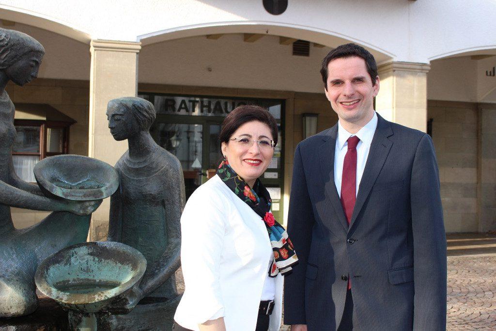 Antrittsbesuch bei Attendorns Bürgermeister Christian Pospischil
