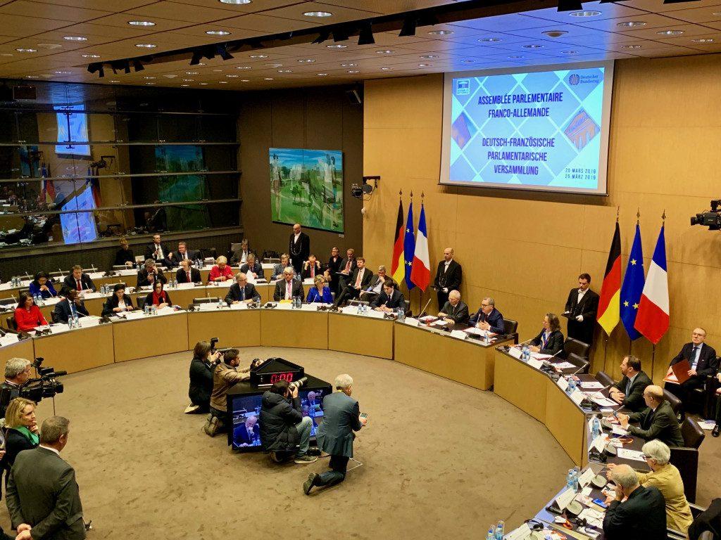 Deutsch-Französische Parlamentarische Versammlung in Paris