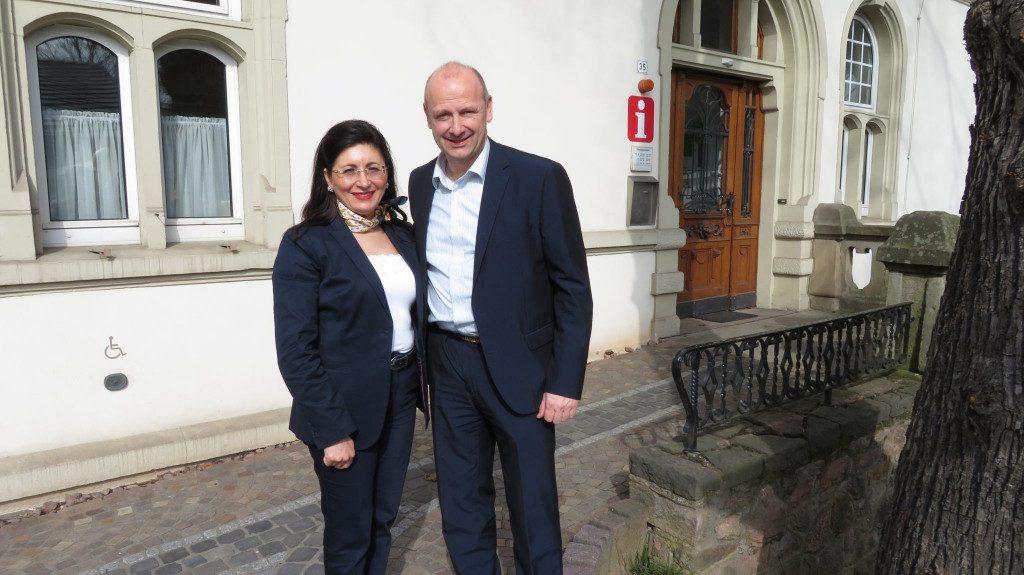 Antrittsbesuch bei Bürgermeister Andreas Reinery  in Kirchhundem