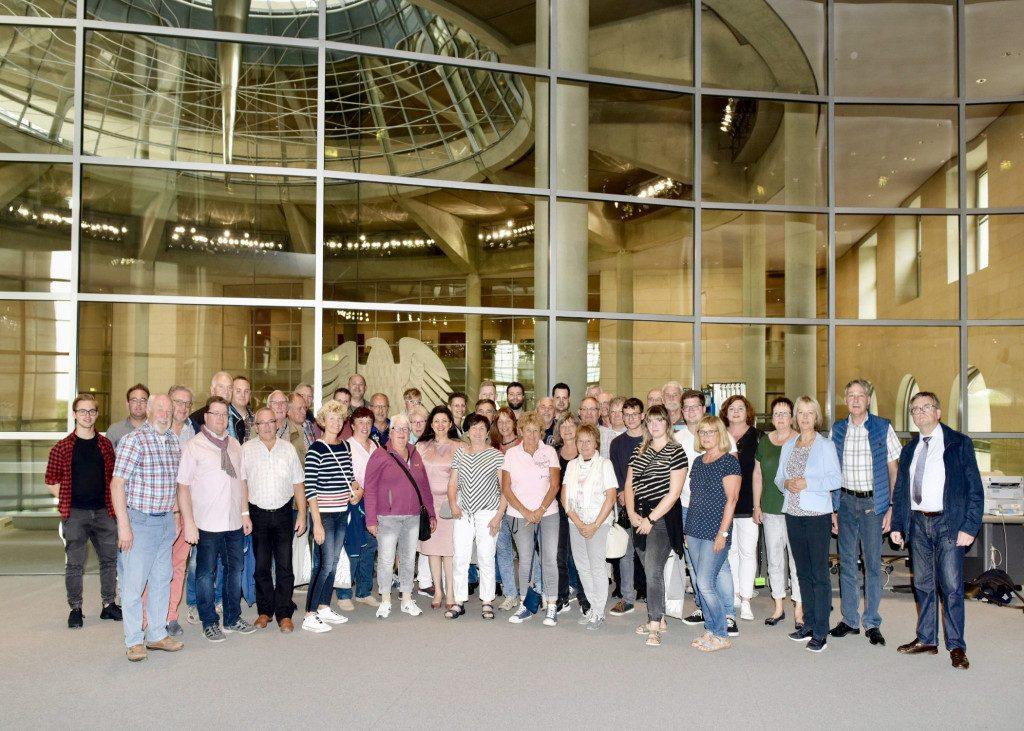 Bürger*innen aus dem Märkischen Kreis I im Juli zu Besuch in Berlin