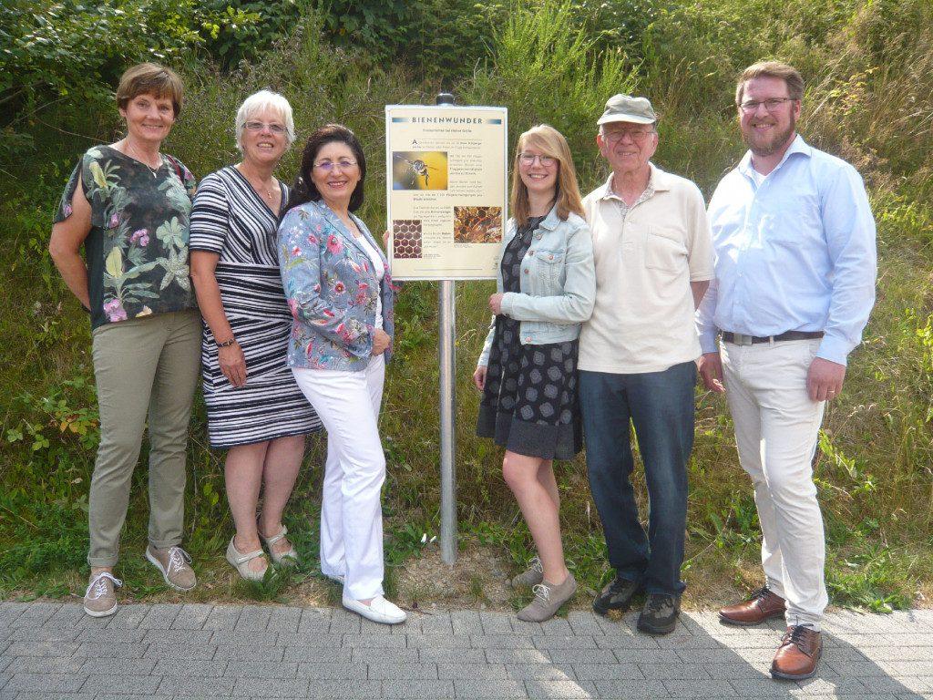 """Bereisung der LEADER-Region """"Oben an der Volme"""" - hier: Bienenlehrpfad in Halver"""