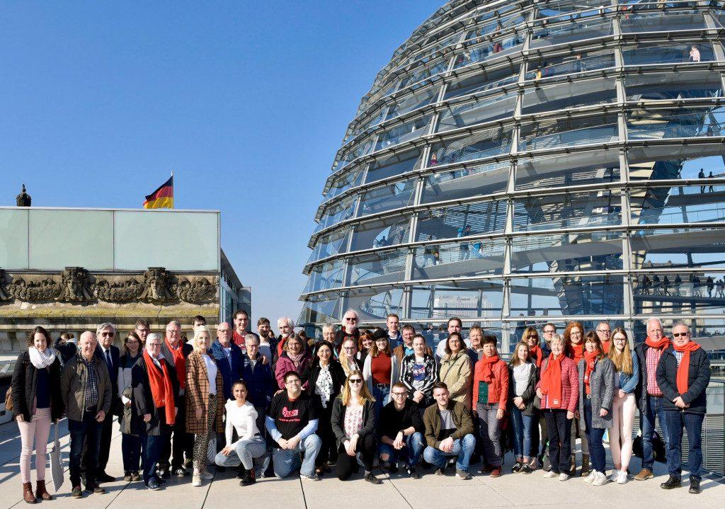 Bürger*innen aus dem Kreis Olpe im April zu Besuch in Berlin