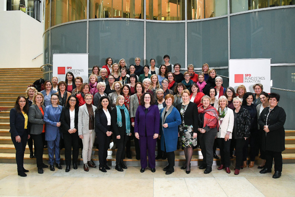 Frauen der SPD-Bundestagsfraktion - 100 Jahre Frauenwahlrecht
