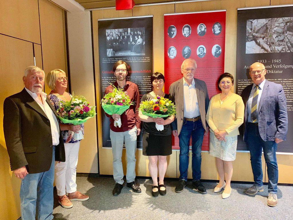 100 Jahre Frauenwahlrecht -Ausstellungseröffnung Marie Juchacz in Lennestadt