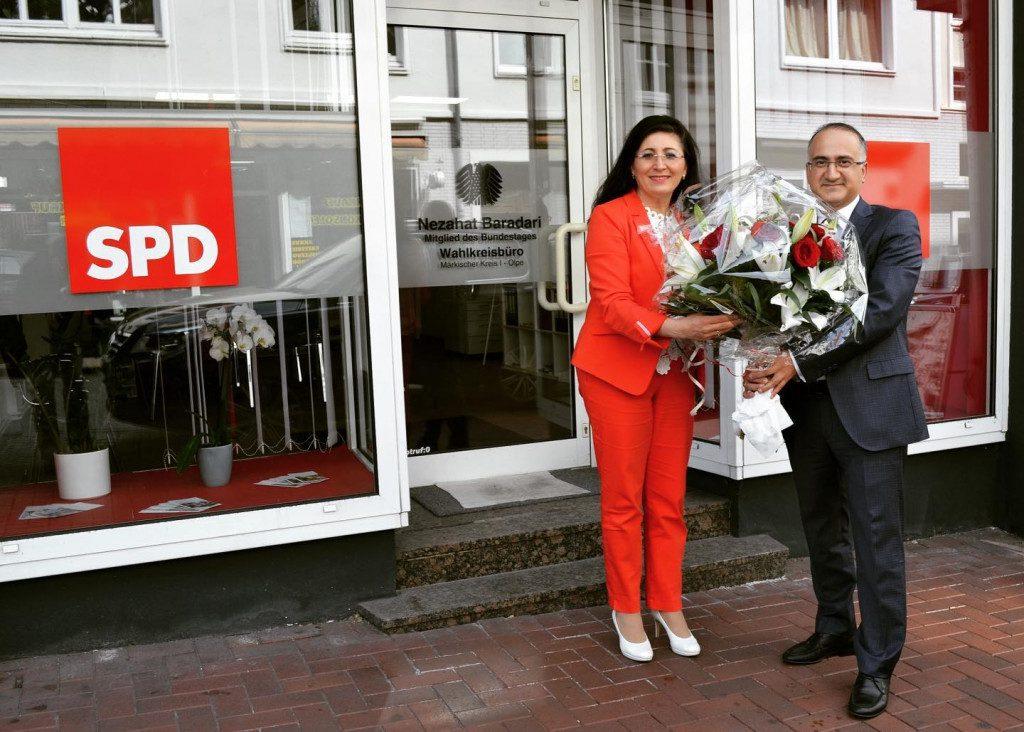 Generalkonsul Şener Cebeci aus Essen zu Besuch im Lüdenscheider Wahlkreisbüro