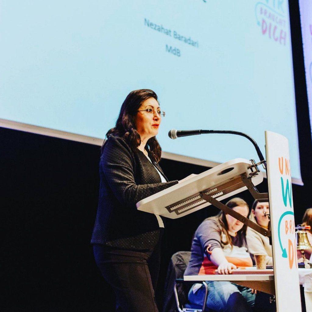 Auf der Landeskonferenz der NRW-Jusos