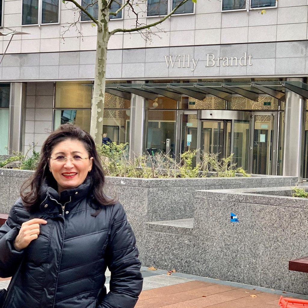 Auf den Spuren von Willy Brandt in Brüssel