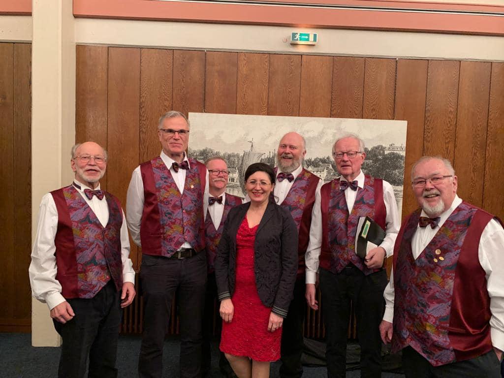 150 Jahre Männerchor Meinerzhagen mit dem italienischen Gastchor aus Trentino