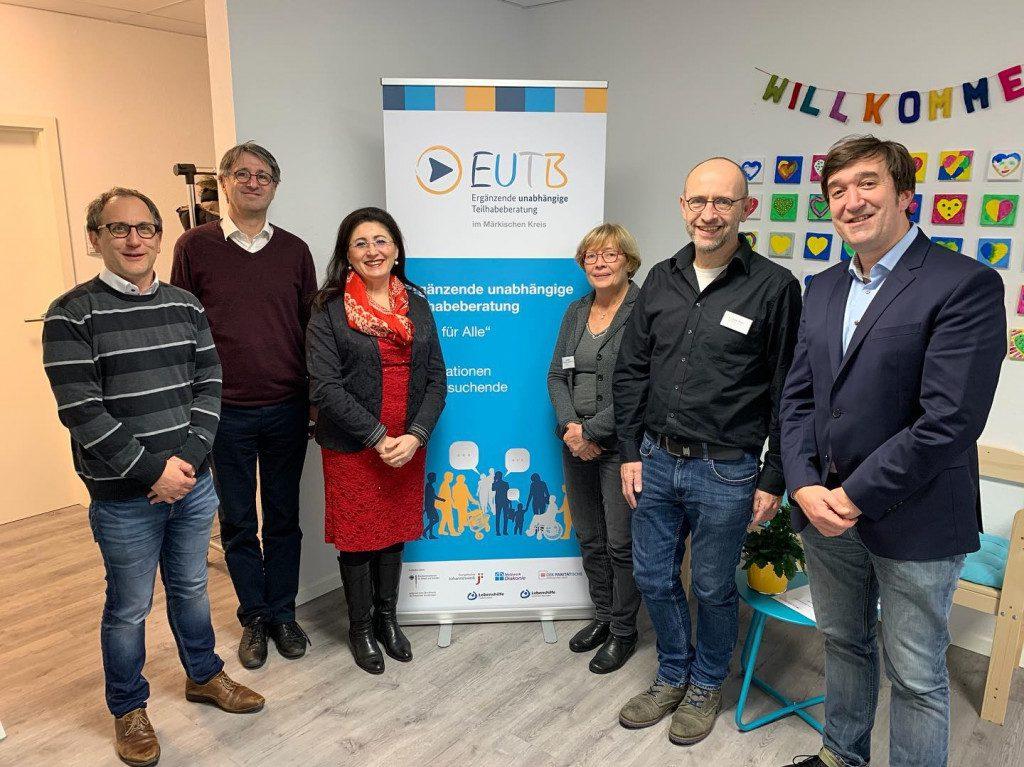 Besuch in der EUTB in Lüdenscheid