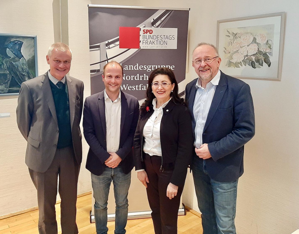 """Fraktion-vor-Ort """"Europas Zukunft im Blick"""" mit Klaus Gräbener, Steffen Löhr und Axel Schäfer"""